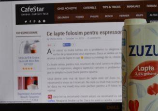Ce lapte folosim pentru espressor?