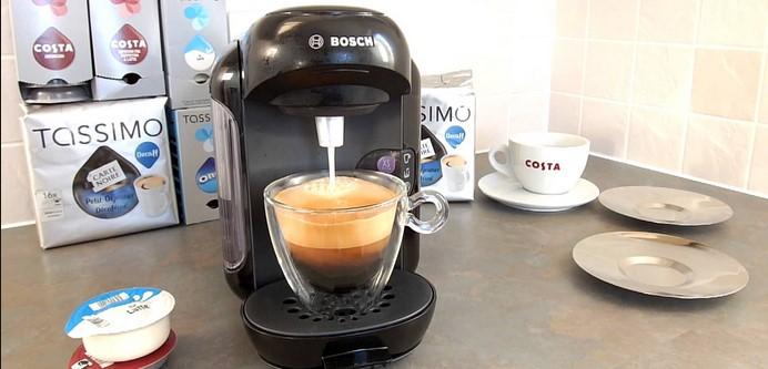 Bosch Tassimo Vivy II TAS1402 preparare cafea