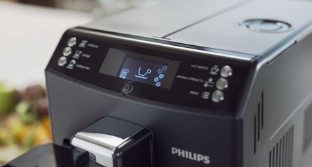 Philips EP3550/00 display