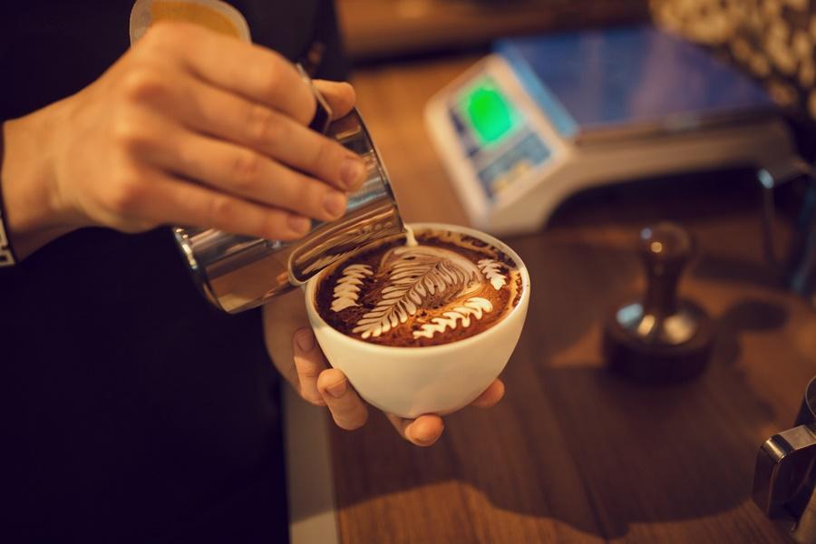 Spuma de lapte Latte Art