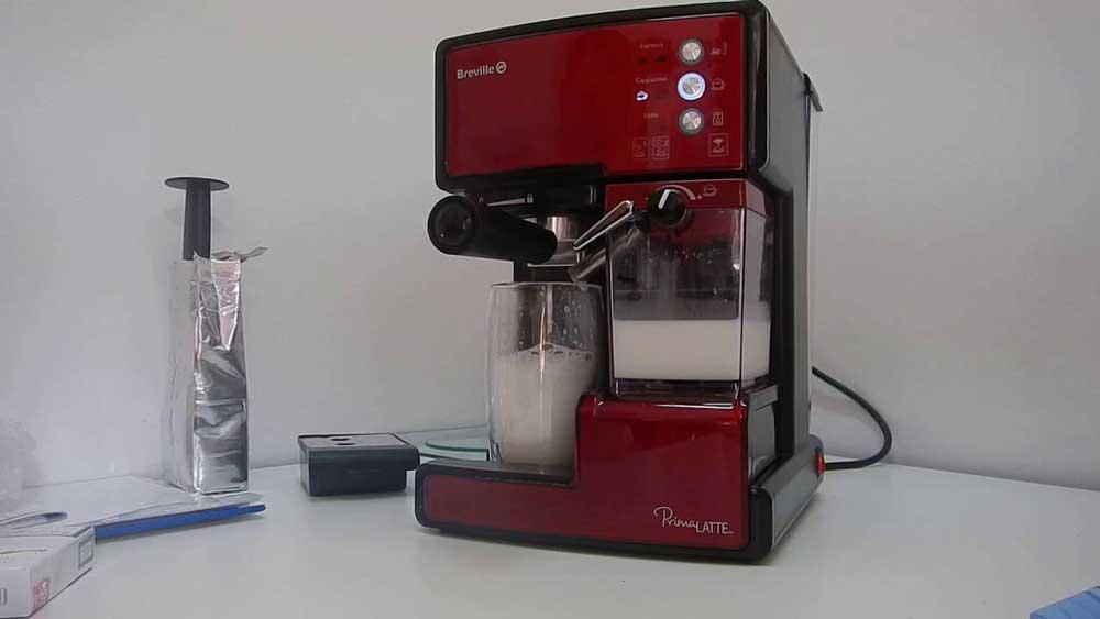espressor manual breville prima latte vcf045X 01