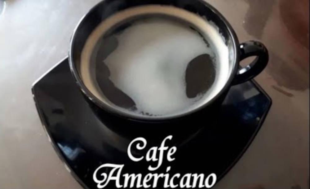 cafe americano preparare gust