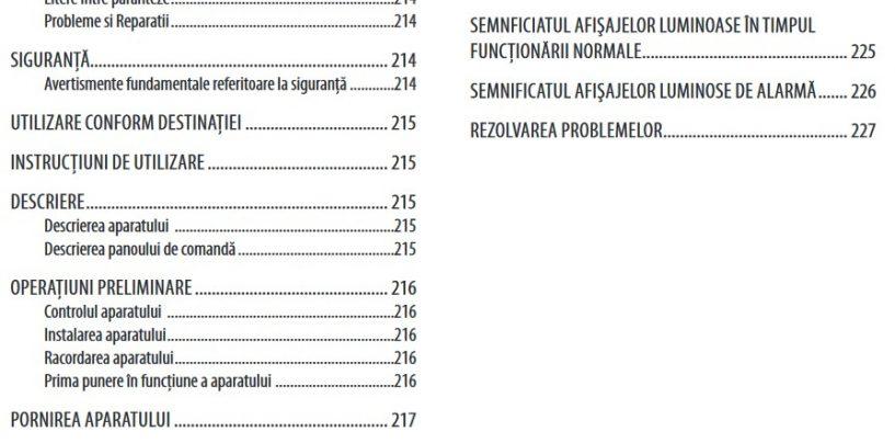 DeLonghi EC221.B Manual Instructiuni În Limba Romana