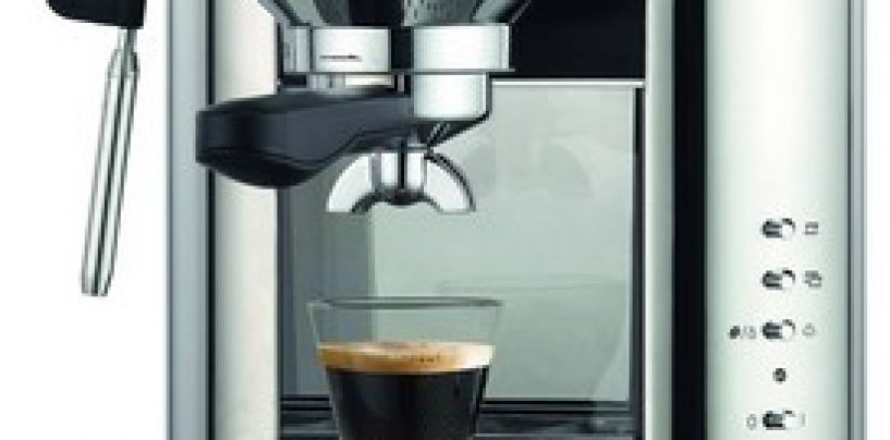 Trisa Espresso Bar Espressor – si diminetile devin mai bune