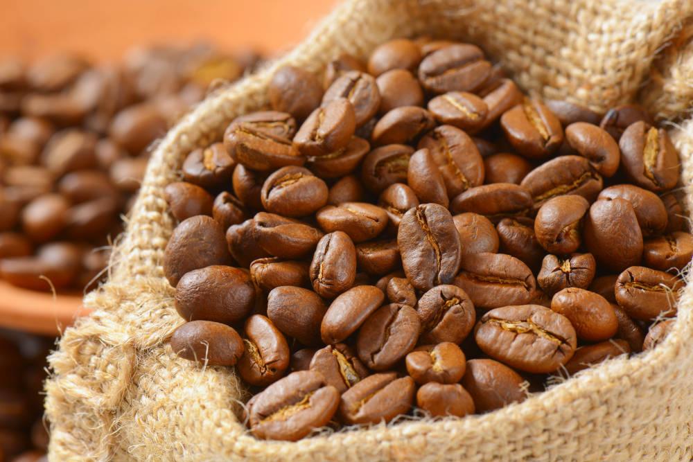 cafea boabe prajita