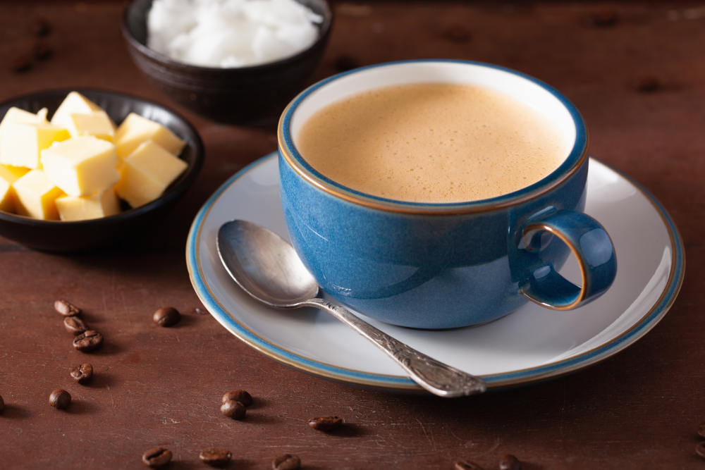 cafea cu unt beneficii