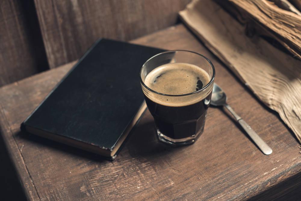 ceasca de cafea sanataosa