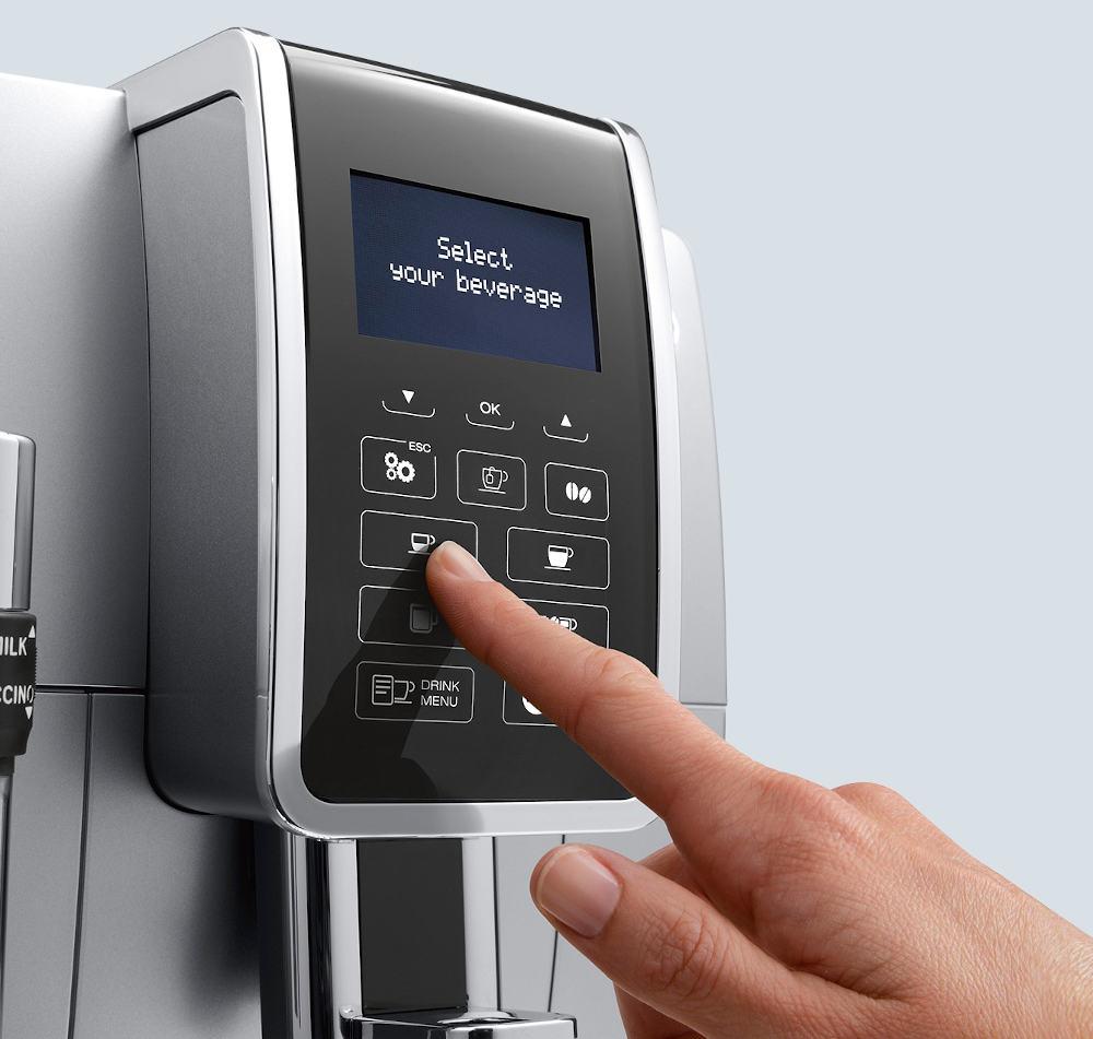 deLonghi Dinamica ECAM 350.55.SB espressor automat cu boabe de cafea